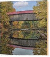 Smith Bridge Wood Print