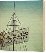 Smith Bros Fish Shanty Wood Print