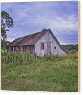 Smith Farm Barn Wood Print
