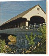 Smith Millennium Bridge At Sunset Wood Print