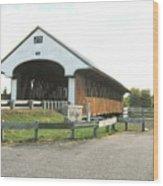 Smith Millennium Covered Bridge Wood Print