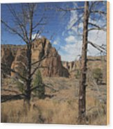 Smith Rock I Wood Print