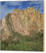 Smith Rock Oregon Wood Print