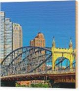 Smithfield Street Bridge Wood Print