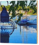Smith's Cove Reflections Wood Print
