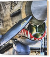 Smithsonian Air And Space Wood Print by JC Findley