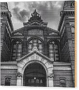 Smithsonian Arts And Industries Building Wood Print