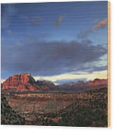 Smithsonian View Of Zion Wood Print