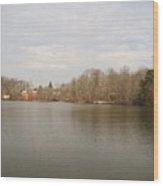 Smithville Lake Wood Print