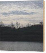 Smithville Landscape Wood Print