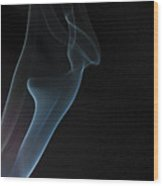 Smoke 7 Wood Print