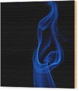 smoke XII Wood Print