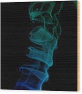 smoke XIX ex Wood Print