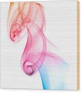 smoke XXV Wood Print