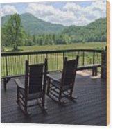 Smokey Mountain Serenity Wood Print