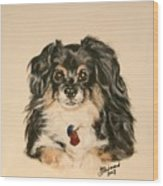 Smokey The Peekapom Wood Print