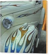 Smokin' Hot - 1938 Chevy Coupe Wood Print