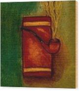 Smoking Pipe Wood Print