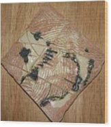 Smoky - Tile Wood Print