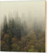Smoky Mount Horizontal Wood Print
