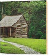 Smoky Mountain Living Wood Print