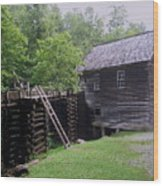 Smoky Mountain Mill Wood Print