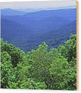 Smoky Mountain National Park Wood Print