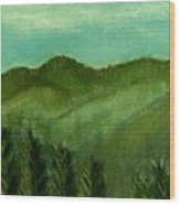 Smoky Mountains Wood Print