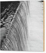 Smooth Cascade Wood Print