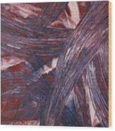 Smooth Flow - 204 Wood Print
