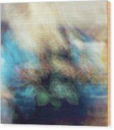 Smudge 244 Wood Print