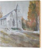 Smyth Chapel, Emory, Virginia Wood Print