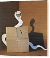 Snake 1 Wood Print