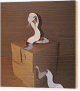Snake 2 Wood Print