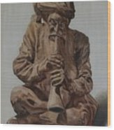 Snake Charmer Wood Print