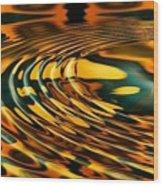 Snake Oil Wood Print