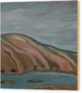 Snake River East Wood Print