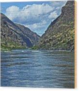 Snake River Hells Canyon Wood Print