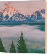 Snake River Overlook - Grand Teton National Park Wood Print