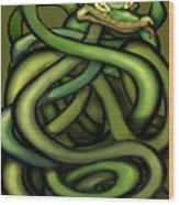 Snakes Wood Print
