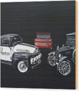 Snap-on Ford Trucks Wood Print