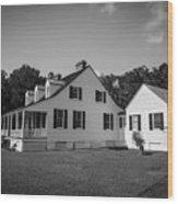 Snee Farm And Charles Pinckney Wood Print
