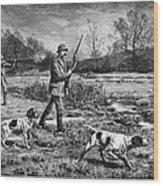 Snipe Hunters, 1886 Wood Print