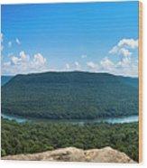 Snooper's Rock Overlook Wood Print
