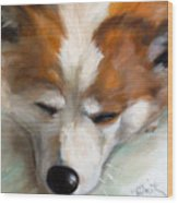 Snooze Wood Print