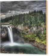 Snoqualmie Falls Storm Photograph By Shawn Everhart