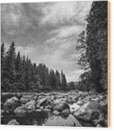 Snoqualmie River Wood Print