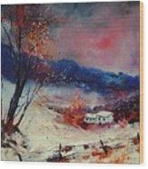 Snow 569020 Wood Print