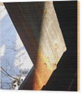 Snow Angle Wood Print