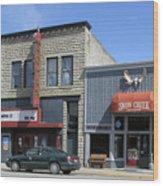 Snow Creek Saloon  Wood Print